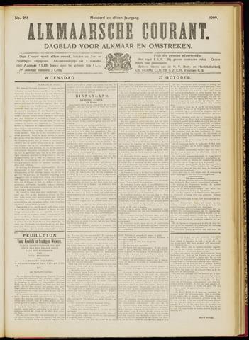 Alkmaarsche Courant 1909-10-27