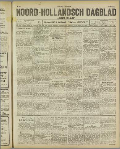 Ons Blad : katholiek nieuwsblad voor N-H 1922-04-06