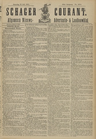 Schager Courant 1911-07-22