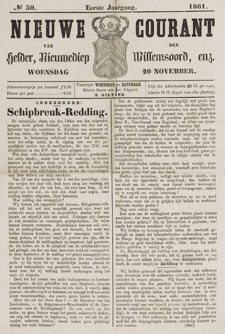 Nieuwe Courant van Den Helder 1861-11-20