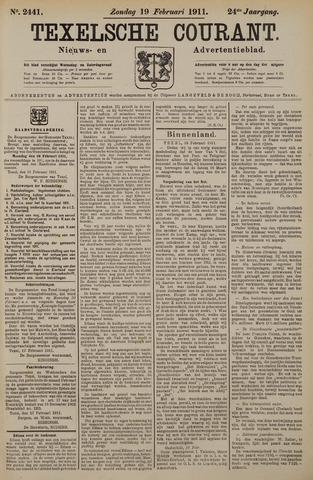 Texelsche Courant 1911-02-19