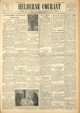 Heldersche Courant 1947-12-01