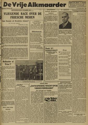 De Vrije Alkmaarder 1947-02-08
