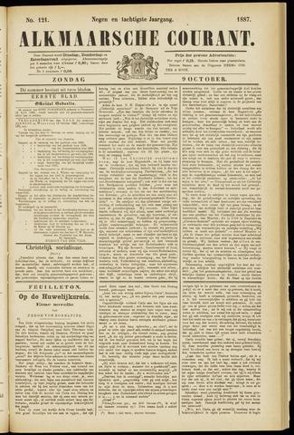 Alkmaarsche Courant 1887-10-09
