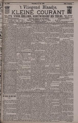 Vliegend blaadje : nieuws- en advertentiebode voor Den Helder 1897-07-21