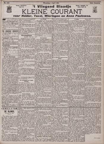 Vliegend blaadje : nieuws- en advertentiebode voor Den Helder 1906-04-04