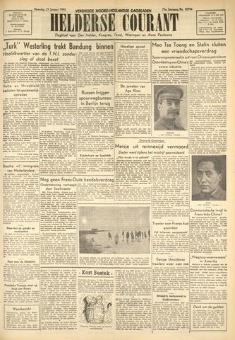 Heldersche Courant 1950-01-23