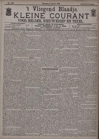 Vliegend blaadje : nieuws- en advertentiebode voor Den Helder 1890-01-08
