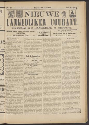 Nieuwe Langedijker Courant 1925-07-21