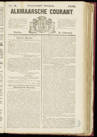 Alkmaarsche Courant 1859-02-20