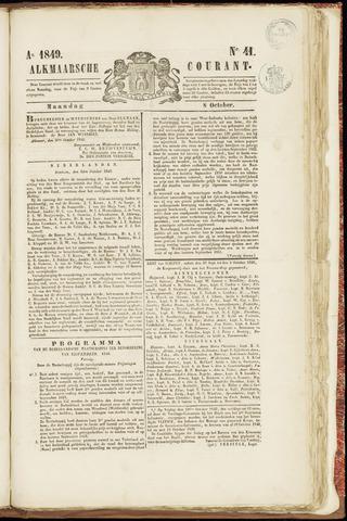 Alkmaarsche Courant 1849-10-08