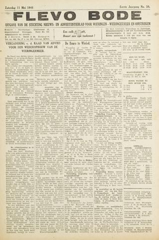 Flevo-bode: nieuwsblad voor Wieringen-Wieringermeer 1946-05-11