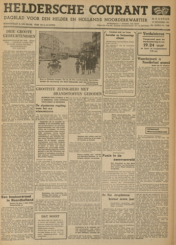 Heldersche Courant 1941-09-29