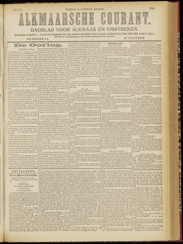 Alkmaarsche Courant 1916-10-12