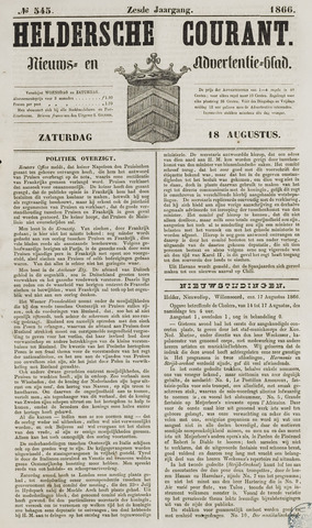 Heldersche Courant 1866-08-18