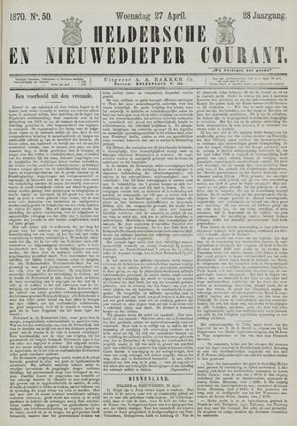 Heldersche en Nieuwedieper Courant 1870-04-27