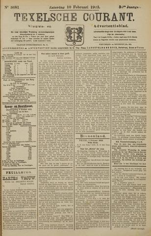 Texelsche Courant 1923-02-10