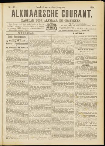 Alkmaarsche Courant 1906-04-04