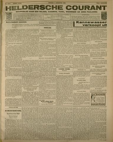 Heldersche Courant 1931-08-04