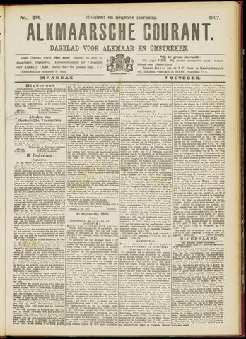 Alkmaarsche Courant 1907-10-07