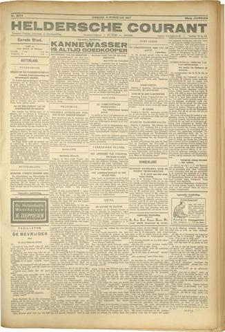 Heldersche Courant 1927-08-09