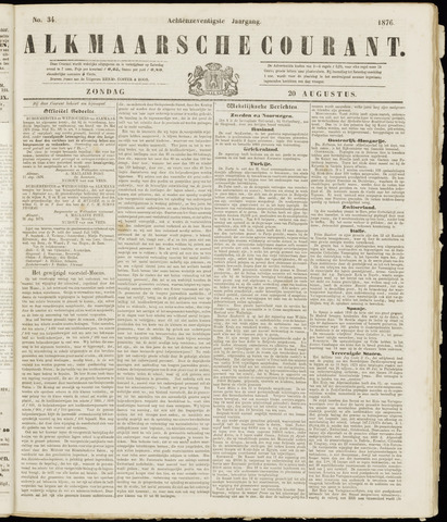Alkmaarsche Courant 1876-08-20