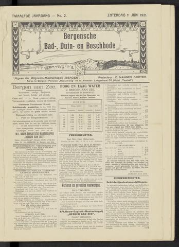 Bergensche bad-, duin- en boschbode 1921-06-11