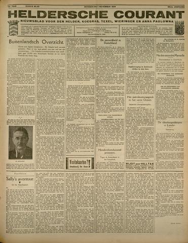 Heldersche Courant 1934-11-01