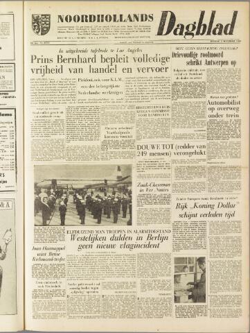 Noordhollands Dagblad : dagblad voor Alkmaar en omgeving 1959-11-03