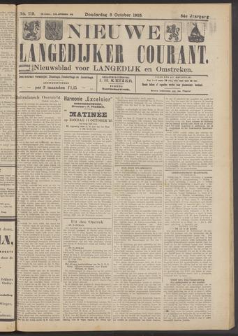 Nieuwe Langedijker Courant 1925-10-08