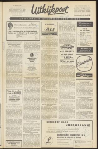 Uitkijkpost : nieuwsblad voor Heiloo e.o. 1969-02-12
