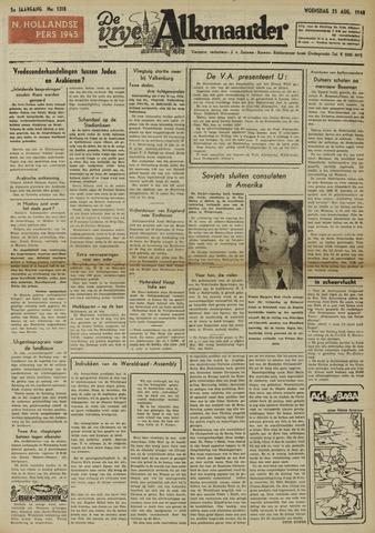 De Vrije Alkmaarder 1948-08-25