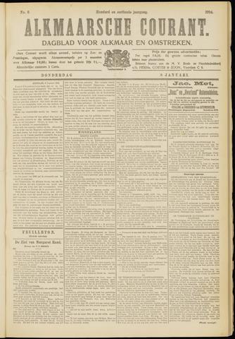 Alkmaarsche Courant 1914-01-08
