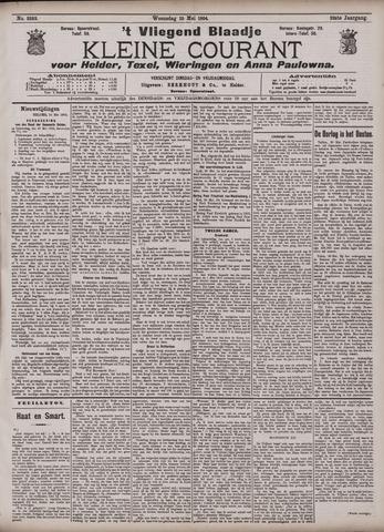 Vliegend blaadje : nieuws- en advertentiebode voor Den Helder 1904-05-25