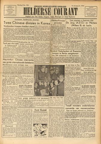 Heldersche Courant 1950-11-06