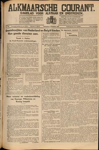 Alkmaarsche Courant 1939-11-08