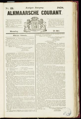 Alkmaarsche Courant 1858-05-24