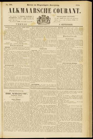 Alkmaarsche Courant 1895-09-06