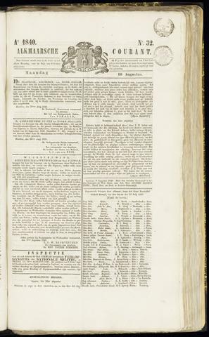 Alkmaarsche Courant 1840-08-10