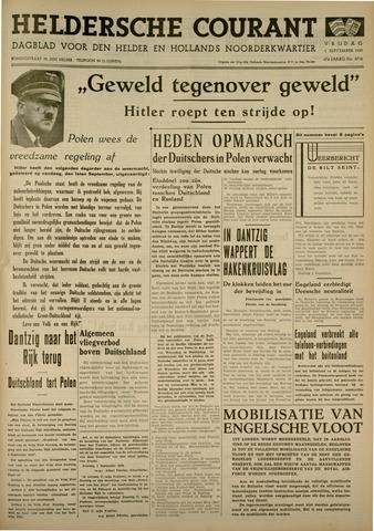 Heldersche Courant 1939-09-01