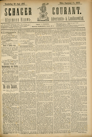 Schager Courant 1895-06-20