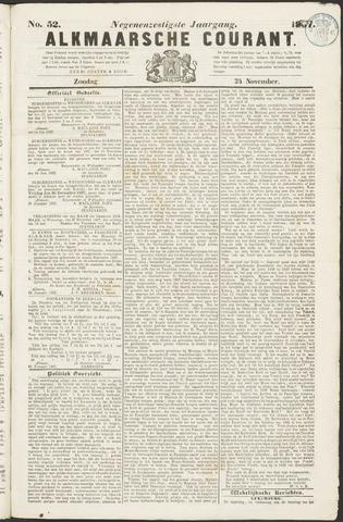 Alkmaarsche Courant 1867-11-24