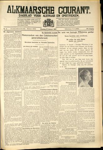 Alkmaarsche Courant 1937-01-19