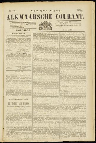 Alkmaarsche Courant 1888-06-27