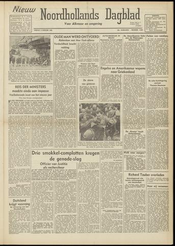 Nieuw Noordhollandsch Dagblad : voor Alkmaar en omgeving 1948-01-09