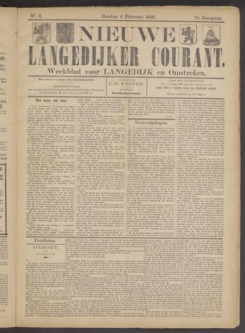 Nieuwe Langedijker Courant 1898-02-06