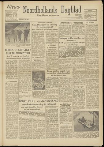 Nieuw Noordhollandsch Dagblad : voor Alkmaar en omgeving 1948-06-18