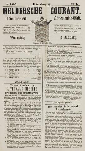 Heldersche Courant 1871-01-04