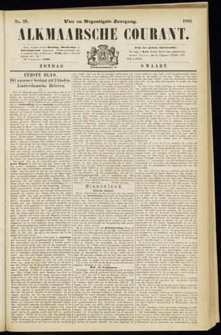 Alkmaarsche Courant 1892-03-06
