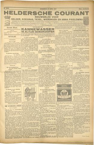Heldersche Courant 1927-04-21